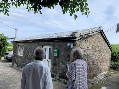 最東馬崗漁村不登錄聚落建築群 海女赴新北市府抗議