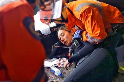 反送中》眼遭彈襲失明 港媒爆料:她是急救員
