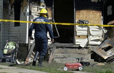 美賓州民宅火災慘案 5幼童遭燒死