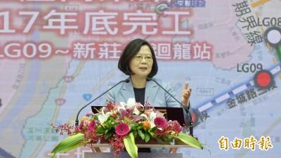 反送中》小英霸氣回應:有我在不怕台灣變香港
