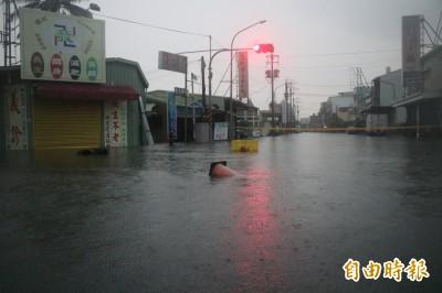 一夜暴雷雨  台南永康、仁德多處積淹水