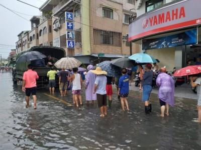 南台灣豪雨不斷 國軍第四作戰區完成災防整備