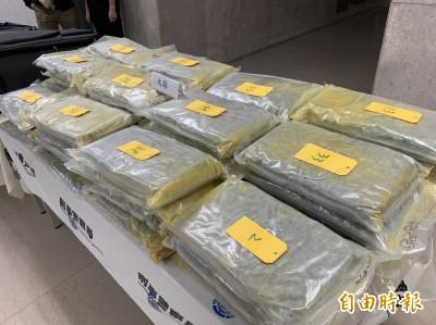 暑假專找年輕人攜毒闖關 桃機查獲82.5公斤海洛因、大麻