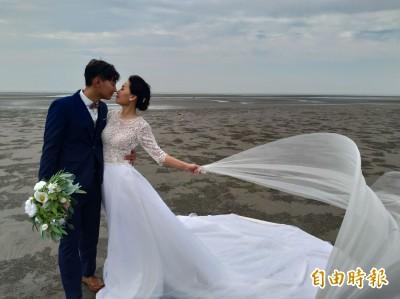 大安濱海樂園露營區 百大婚紗私房景點
