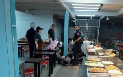 離職廚師怨雇主欠薪 怒潑汽油揚言點火被壓制