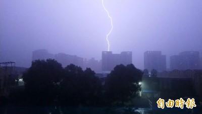 中南部下半天雨勢緩和 其他地區留意午後雷陣雨