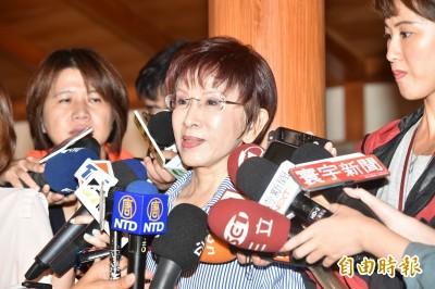 中評委批韓整天打麻將、抱女人 洪秀柱:對韓國瑜不公平