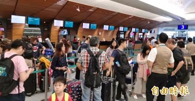 香港機場陸續恢復運作 台港航線今仍有近40班次取消