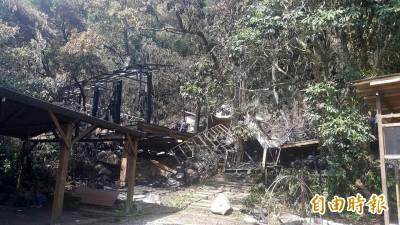 優人神鼓老泉山上劇場火災 200件樂器遭毀損失慘重