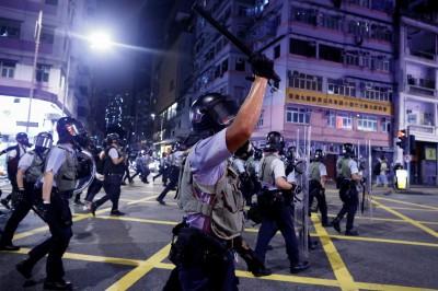 反送中》港警證實:6/9至今 已拘捕748人