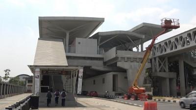 印尼雅加達將迎來第一條輕軌!台灣廠商也參與其中
