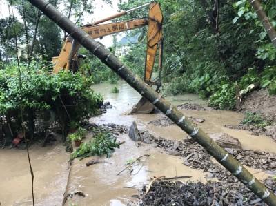 高雄85條土石流警戒  桃源日累積雨量逼近500毫米