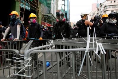 反送中》週末遊行全遭反對 警方只准集會