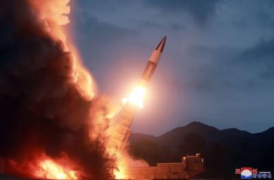 4週內第6度! 北韓疑向東海發射2枚短程飛彈