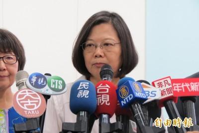 關注反送中 蔡英文:國安會小組持續監看香港情勢