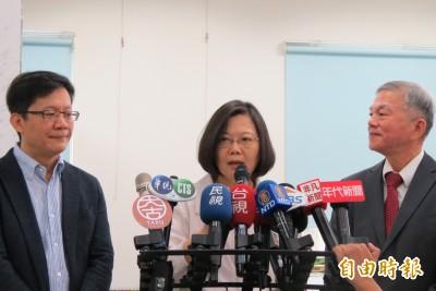 蔡英文:台灣經濟成長率第2季四小龍最佳 全年將相當可觀