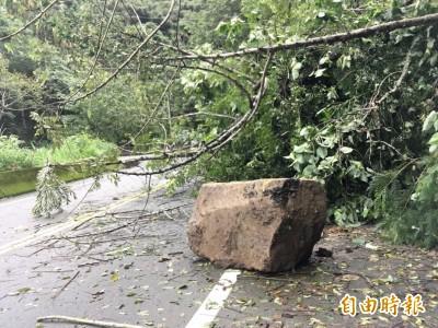 雨炸台中!東勢雨量全市第一 行經山區小心安全