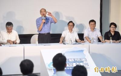 韓國瑜國政顧問團今成軍 完整名單出爐