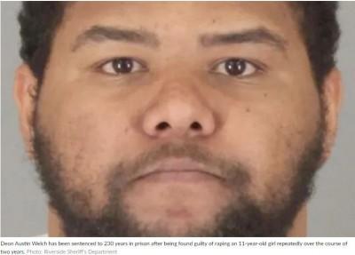 判囚230年!惡狼性侵女友幼女至少90次 搞大肚子仍不認罪