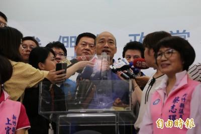 韓國瑜:王金平被講成狐狸不妥 建議柯P收回
