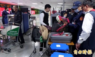 菲律賓疑爆非洲豬瘟 我國明起對入境旅客加強查驗行李