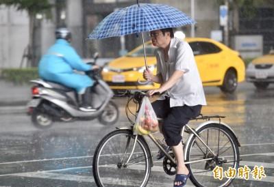 天黑黑欲落雨!北北基桃竹宜6縣市慎防大雷雨、強陣風