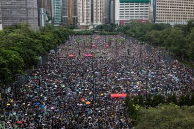 反送中》香港百萬人再集會! 群眾擠爆6個足球場