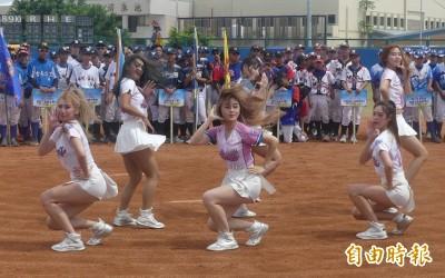 金門太武盃高中棒球賽開幕 LamiGirls啦啦隊跨海點燃熱情