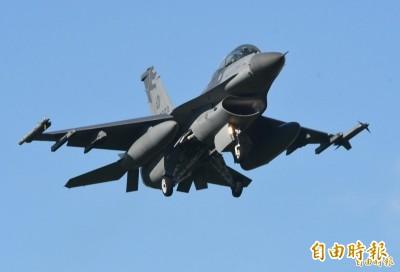 中國威脅美國勿售台F16V 陸委會嗆中共才是破壞和平亂源