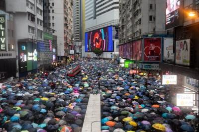震憾!818香港維園集會170萬人縮時影片曝光