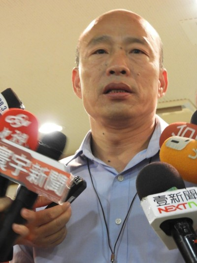 張善政南下助陣 韓國瑜明公布核四等能源政策