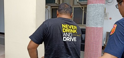 T恤寫「絕不酒駕」 移工喝茫上路被逮正著