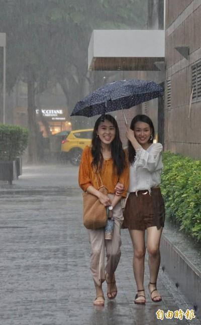 午後大雷雨! 雙北7地區陷淹水警戒