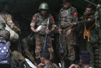 緬甸北部叛軍發動攻擊 19人喪命、2000多人流離失所