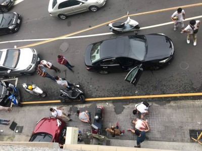快訊》服務處前開4槍 警逮2嫌 台中市議員驚:像電影情節