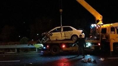 3歲童身亡…無照又飆時速143公里釀3死 駕駛判1年2月