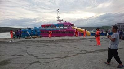 暑假故障2次! 綠島交通船天王星停航 檢修合格才復駛