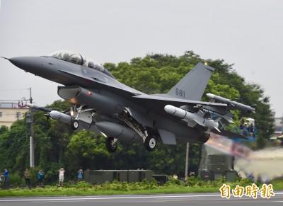 中評論家稱F-16V「將淘汰的三代機」  我斥:四代半且CP值高