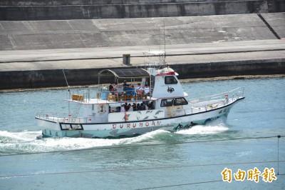 花蓮海域警戒剩豐濱 賞鯨船上午照出航