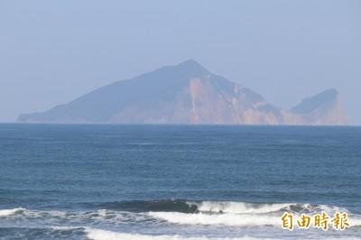 白鹿颱風來襲 龜山島明起封島2天