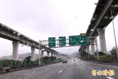 白鹿颱風來襲!國道7路段 將視風力降低速限甚至封閉