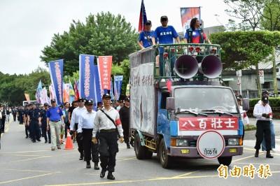 決戰明年立委選舉 八百壯士陳抗團體定調後離場