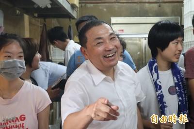郭柯王昨首合體 侯友宜:我來不及趕過去跟家屬致意
