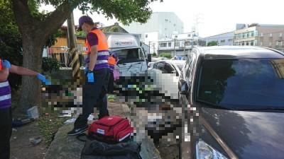 酒駕貨車釀嚴重車禍 1路人、2掃地志工無辜喪命