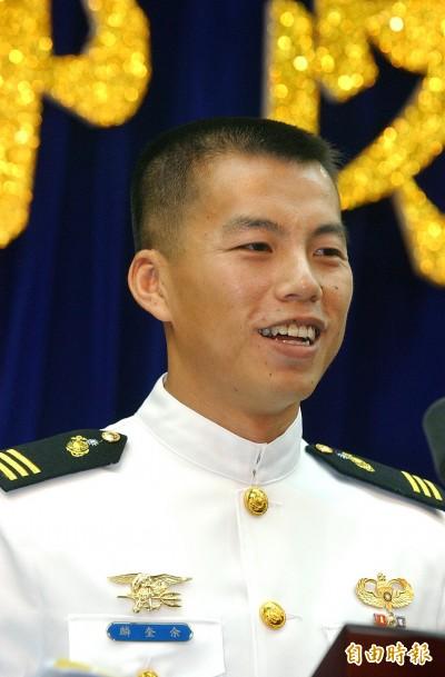 台灣首位通過美海豹部隊訓練 AIT大讚我優秀軍官!