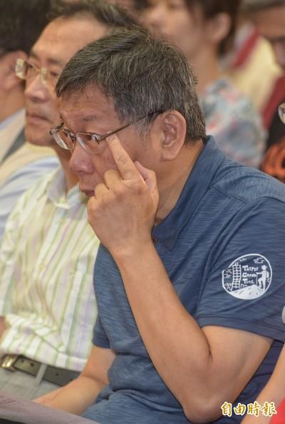 名嘴爆當郭競選總幹事 柯:不是願不願意,是像嗎?