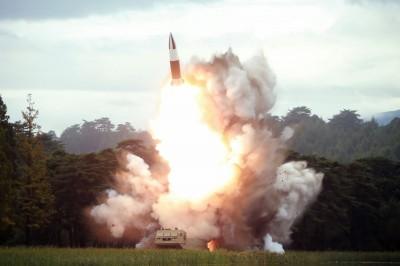 北韓1個月內射7次! 今晨疑發射2枚彈道飛彈