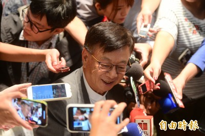 勸進郭台銘選總統 宣明智:民主社會不應黨大於國