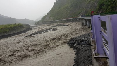 白鹿颱風影響 省道7處路段預警性封閉