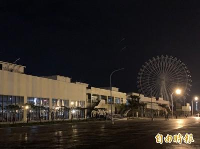台中港三井大停電 摩天輪一度「卡住」 全店停止營業